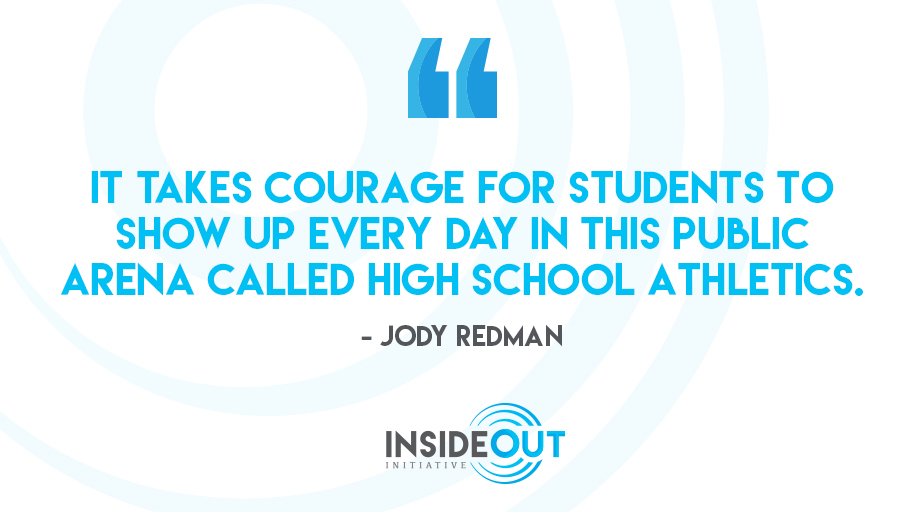 It's crucial that we encourage and applaud student-athletes' efforts, win or lose.