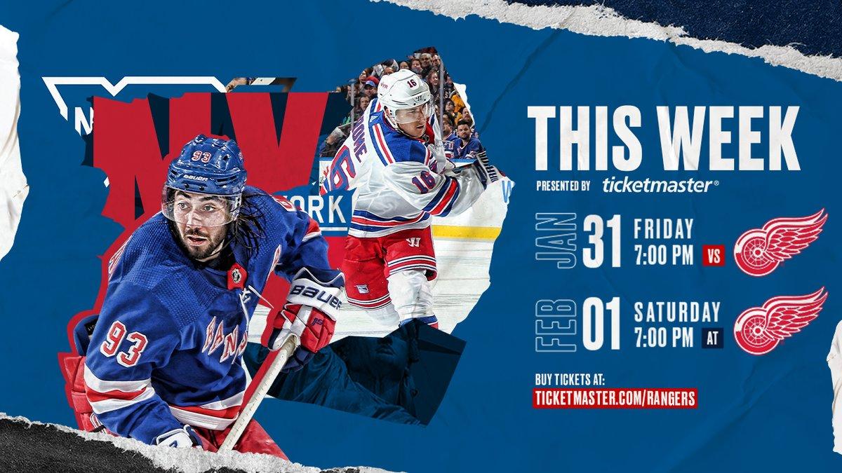New York Rangers @NYRangers