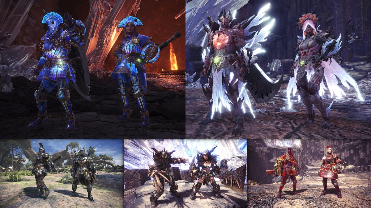 Monster Hunter On Twitter Lots More High Rank Armor Are Now Available As Layered Armor In Iceborne Including The Prestigious Elder Dragon G Armor Sets Hunt High Rank Arch Tempered Elder Dragons Iceborne great sword equipment progression guide step by step (recomended playing). hunt high rank arch tempered elder dragons