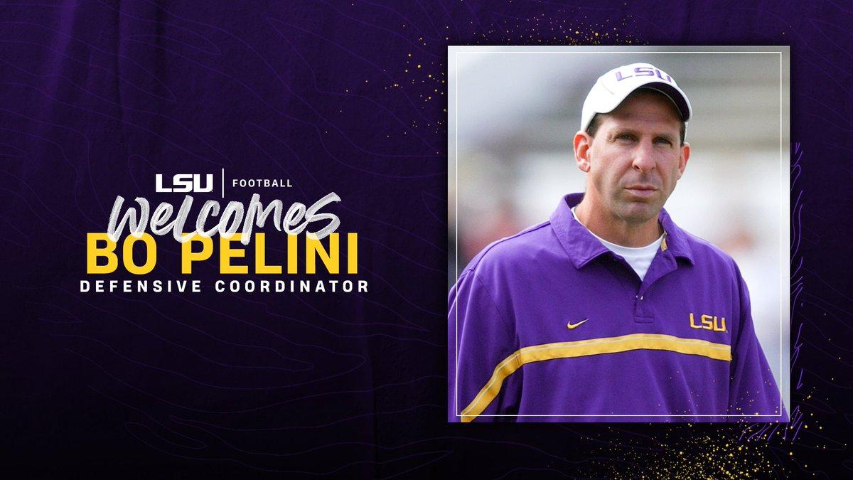 Bo Pelini is returning to Baton Rouge as the Tigers defensive coordinator! #GeauxTigers 🔗 lsul.su/2O5XjNf