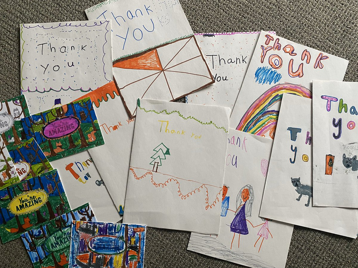 I've donated to @DonorsChoose several times, but these thank you notes take the cake! #sharethanks