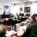 Image for the Tweet beginning: QIA's president and team met