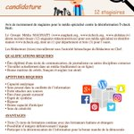 Image for the Tweet beginning: Appel à candidature #Tcheck