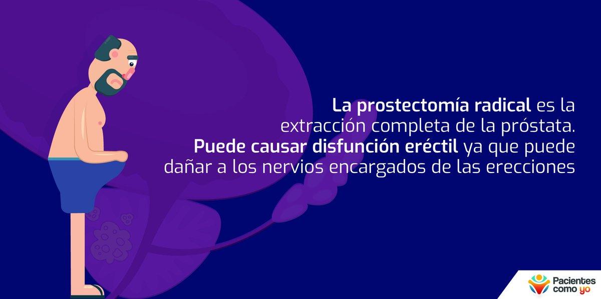 la próstata inflamada afecta la erección