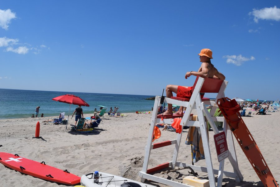 DEM lifeguards have been protecting RI beach goers for decades. Join the team!