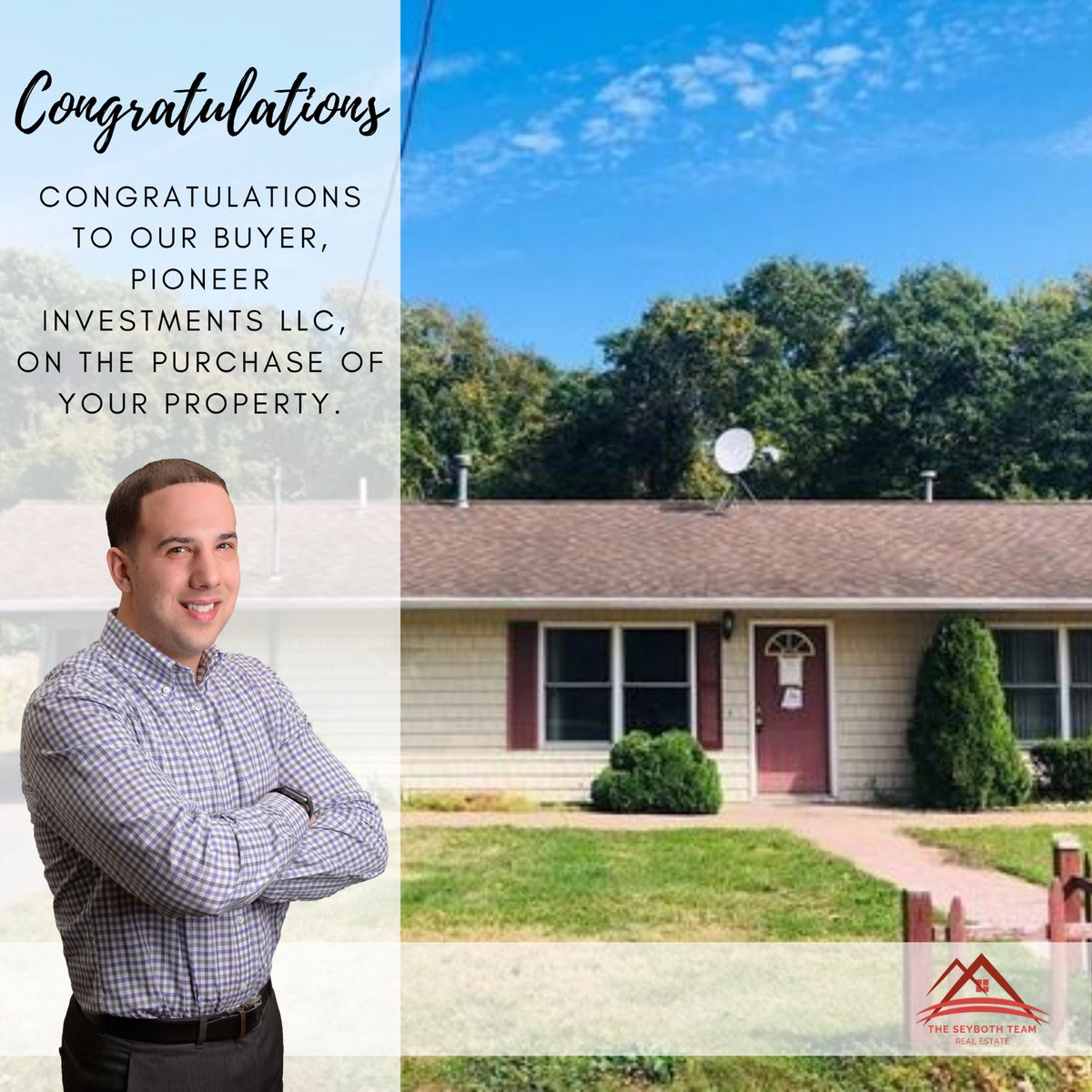 Congratulations to our buyer, Pioneer Investments LLC, on the purchase of your property. . . #TheSeybothTeam #realestate #rirealestate #rhodeisland #sold  #toprealtor #realestateinvesting #buyersagent #lovewhatidopic.twitter.com/ObjAdoccny