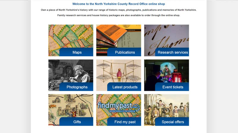 Did you know our #NorthYorkshire Record Office has an online shop? Own a piece of North Yorkshire's history with our range of historic maps, photographs and publications.  Have a browse here ⬇️
