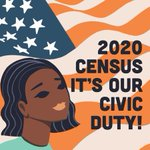 Image for the Tweet beginning: Responding to the #2020Census is