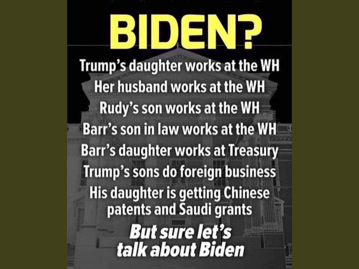 Really @MittRomney @CoryGardner  @SenAlexander attacking Biden, let's talk about #ImpeachedTrump's children pic.twitter.com/pUbe8iKTuc
