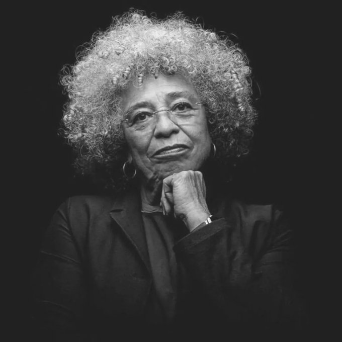 Happy Birthday to Angela Davis. She of the brilliant mind and heart.