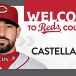 Image for the Tweet beginning: 🚨 CASTELLANOS OFFICIAL 🚨  The #Reds