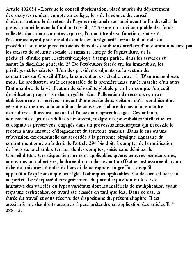 Article 402054 - Lorsque le conseil d'orientation, placé auprès du département des analyses rendent compte au co...pic.twitter.com/47HD8WKPFb