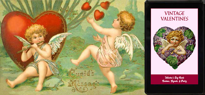 Beautiful Vintage Valentine's Day Cards with History of the origins of Saint Valentine's Day, Ancient myths, Legends of gods and goddesses, Romantic Poetry, plus Love Quotes: http://amazon.com/dp/B00BCJVH1Y   #FolkloreThursday  #ValentinesDay #Lovepic.twitter.com/trq1qrpuob