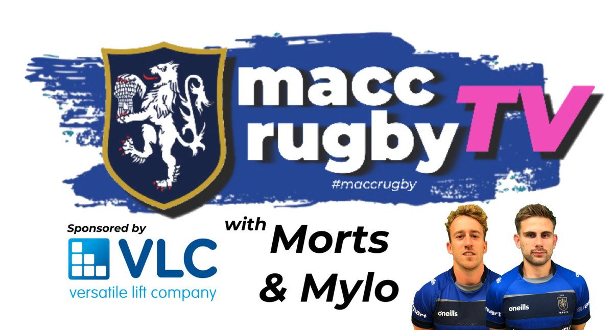 test Twitter Media - It's a big week for #maccrugby and we spent some time with @TomMorton1010 and Myles Hall to find out what the feeling in the camp! See the whole thing on our YouTube channel  #maccrugbytv sponsored by @VersatileLiftCo or follow this link: https://t.co/RvmJsnOBgM https://t.co/hiZFpMfyPc