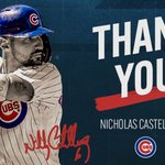 Image for the Tweet beginning: Thank you to Nicholas Castellanos