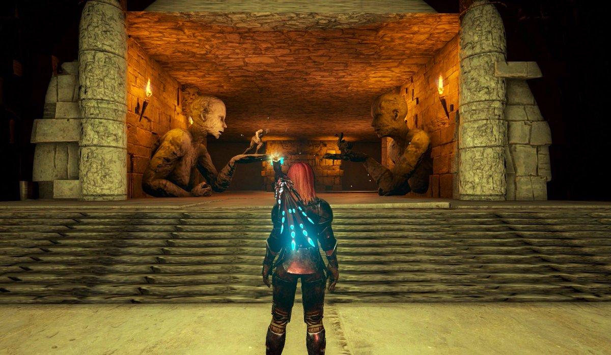 洞窟 の ark 試練