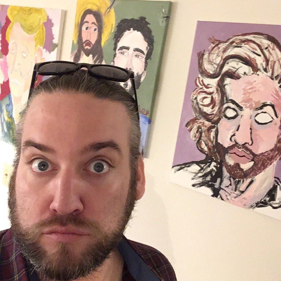 #MondayMood . . #art #teacherlife #inthestudio #neverstopcreating #outsiderart #workinprogress #selfie #portrait #louisiana #artistsoninstagram #buyart #commissionsopen #coffee #jonimitchell #jesus #selfportrait… http://instagram.com/p/B719hc6hYzi/…pic.twitter.com/jmUa8sR5Yz