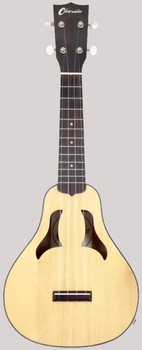 Clearwater Vita Mandolin Electro-Acoustic Soprano Ukulele