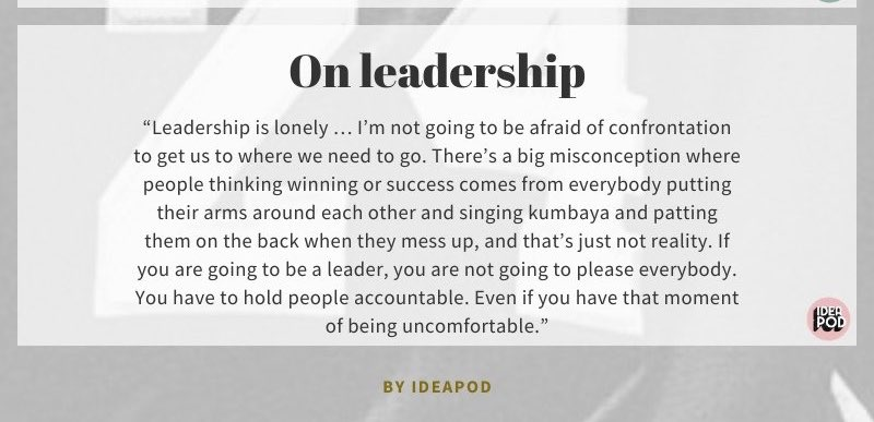 Leadership is lonely, uncomfortable, full of accountability - not kumbaya. #suptchat #leadupchat