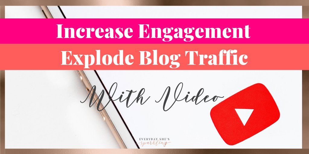 Learn how to increase your engagement and explode your blog traffic using video. Generate growth for your blog using these 5 easy steps and video SEO. #youtube #videomarketing #seotips #bloggingtips #increaseblogtraffic  http://bit.ly/2Vn0hlbpic.twitter.com/bxNBaTpHrd