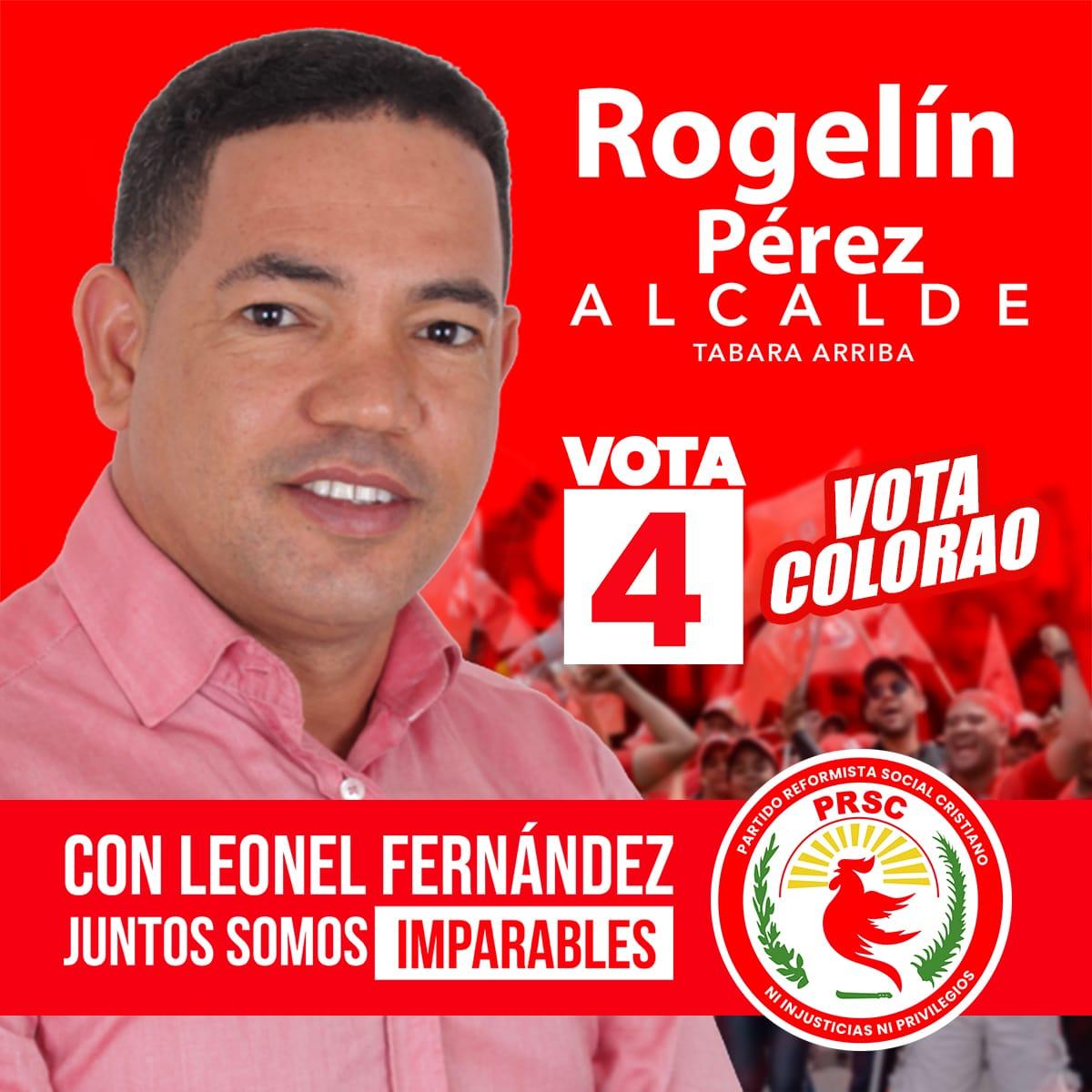 El renovado @partidoprsc y su presidente @quiqueantun junto al candidato presidencial @leonelfernandez y todos los aliados presentan al candidato a la alcaldía de Tabara Arriba, Rogelín Pérez ¡VOTA COLORAO! ¡A paso de vencedores! #JuntosSomosImparables #BastaYa #Vota4pic.twitter.com/2OmMG9HDfv