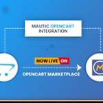 Image for the Tweet beginning: Mautic OpenCart Integration Module Now