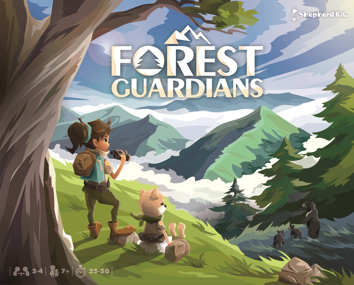 Forest Guardians is a tile-placement / area control game made for families and friends. Players draw and place tiles of the stunning natural wonders from Taiwan, while working on reforestation and wildlife rescue as rangers. Launching this April on Kickstarter. #ForestGuardianspic.twitter.com/7KoIpf999C