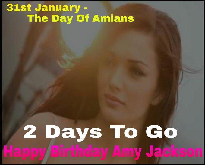 Its 2 Days To Go Now For Amy\s Birthday  Countdown Begins Happy Birthday Amy Jackson !