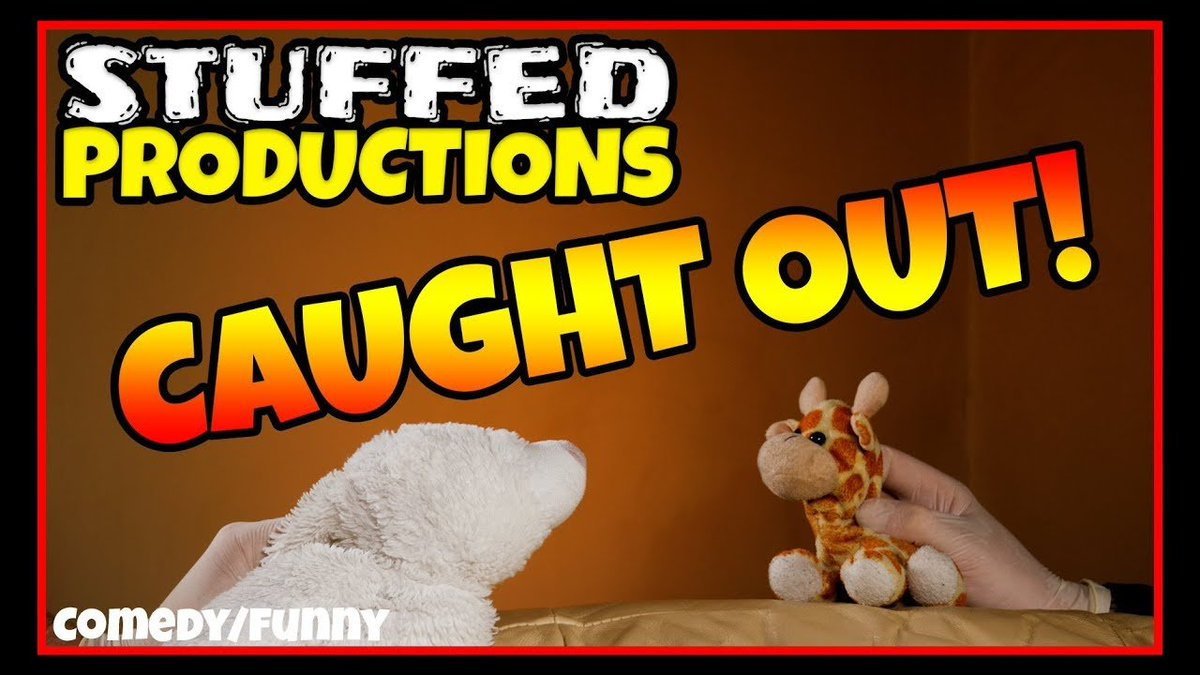 #14 CAUGHT OUT! Behind The Scenes at Stuffed Productions - Plush YouTube Channel   #BehindTheScenes #Work