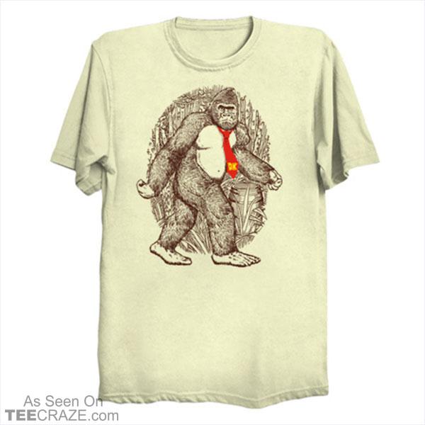 Donkey Sighting T-Shirt Designed by Demonigote  | #TeeCraze #Funny #DonkeyKong #VideoGame #Nintendo #tshirt