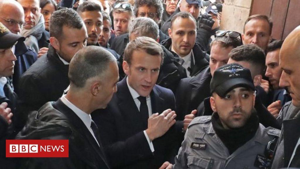 'Go outside': Macron confronts Israeli security - ICYMI https://t.co/9lQvw4lAPp https://t.co/MpgvrVH6Vk