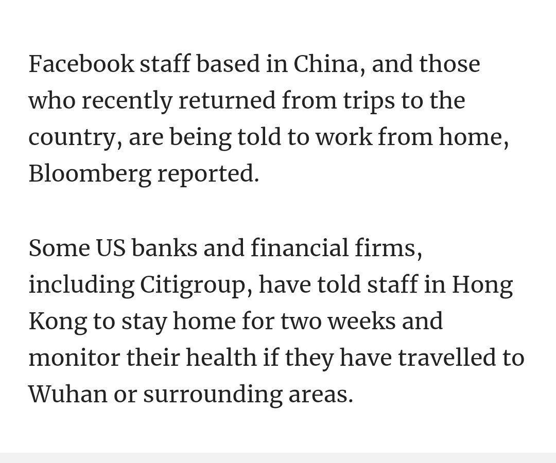 https://www. scmp.com/news/china/soc iety/article/3047849/china-coronavirus-death-toll-climbs-106-confirmed-cases-surpass  …   Is Facebook is there in China as per below screenshot in news ? #HongKong<br>http://pic.twitter.com/wWSjXfPbLC