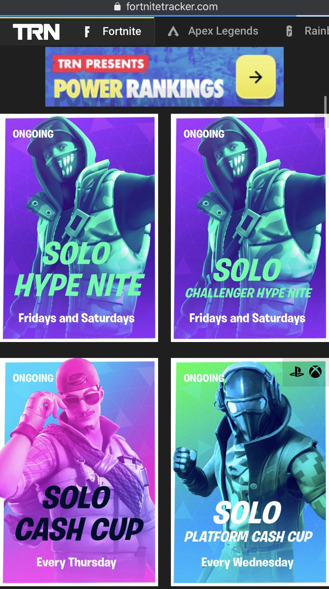 Check out current events on http://FortniteTracker.com   #fortniteevents pic.twitter.com/prUFRldEFy