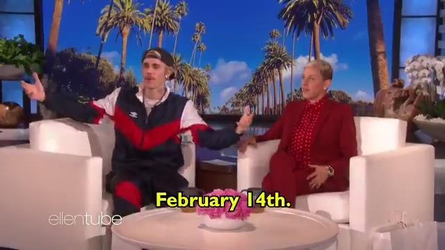 .@JustinBieber accidentally gave me the release date for his new album.