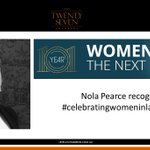 Image for the Tweet beginning: Our member Nola Pearce has