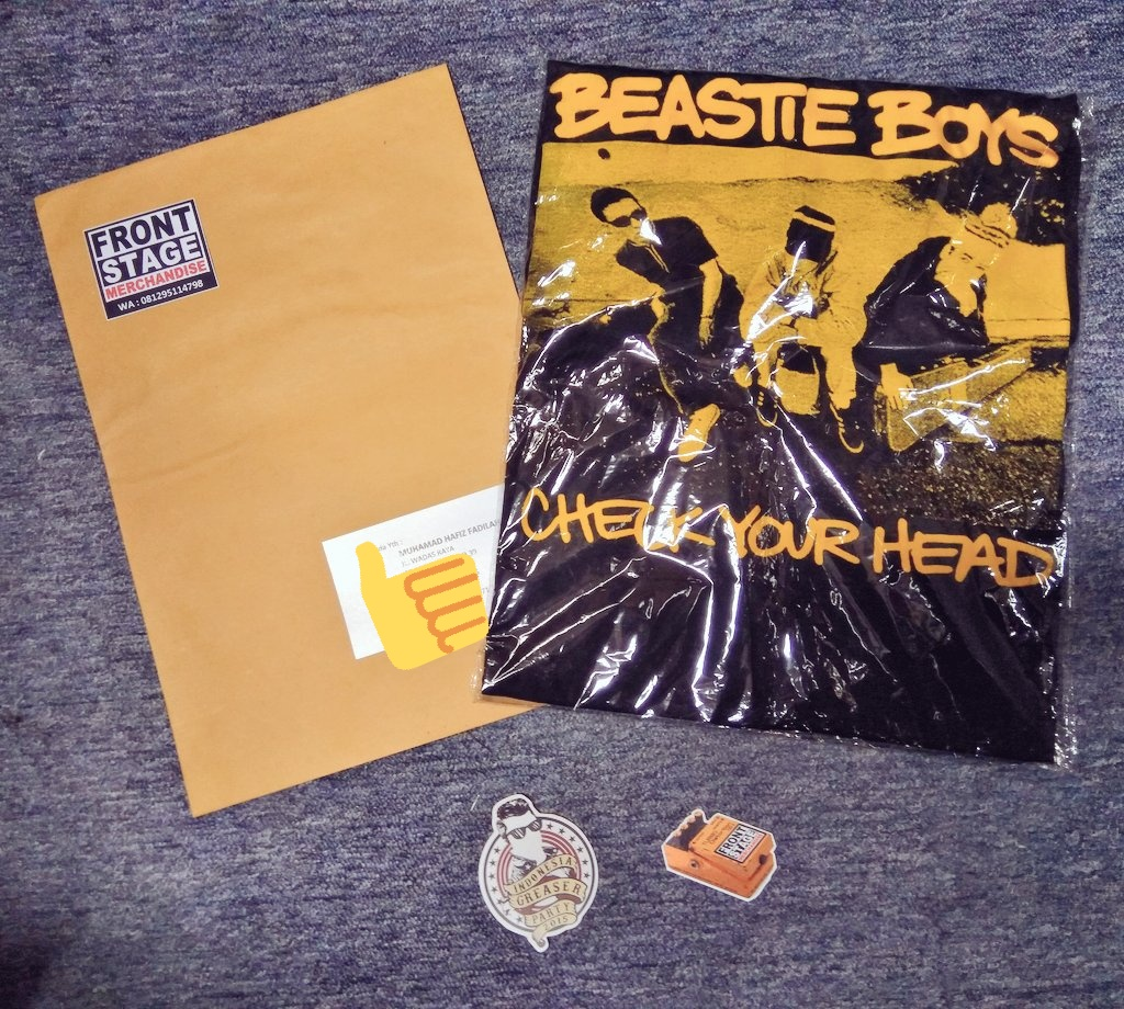 Today shipping #kaosband BEASTIE BOYS goes to Depok, thanx for shopping bro! #jajanrock #jajanmusik #jajankaosbandpic.twitter.com/nkZSGKsxo3