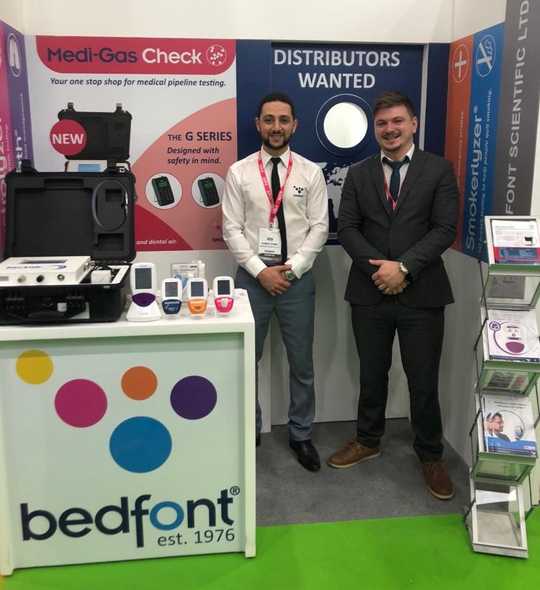 Ahmed & Eddie are ready to answer your #breathanalysis questions on our stand at #ArabHealth - visit them in Hall 3, stand C.07  #bedfontfamily #medicaldevices #exhibipic.twitter.com/md3AdgCClr