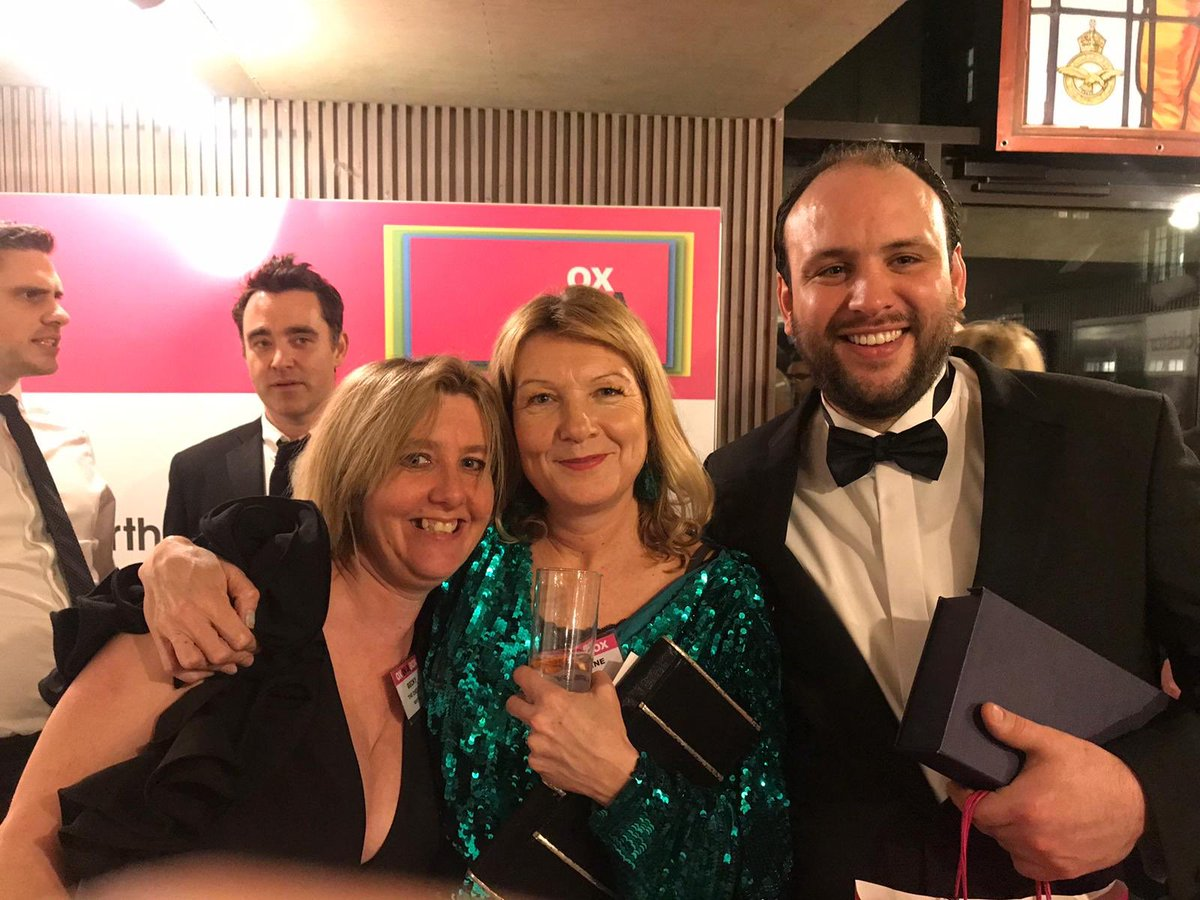 And the Best Pub at the Ox In A Box Food Awards went to @TheChesterOx4