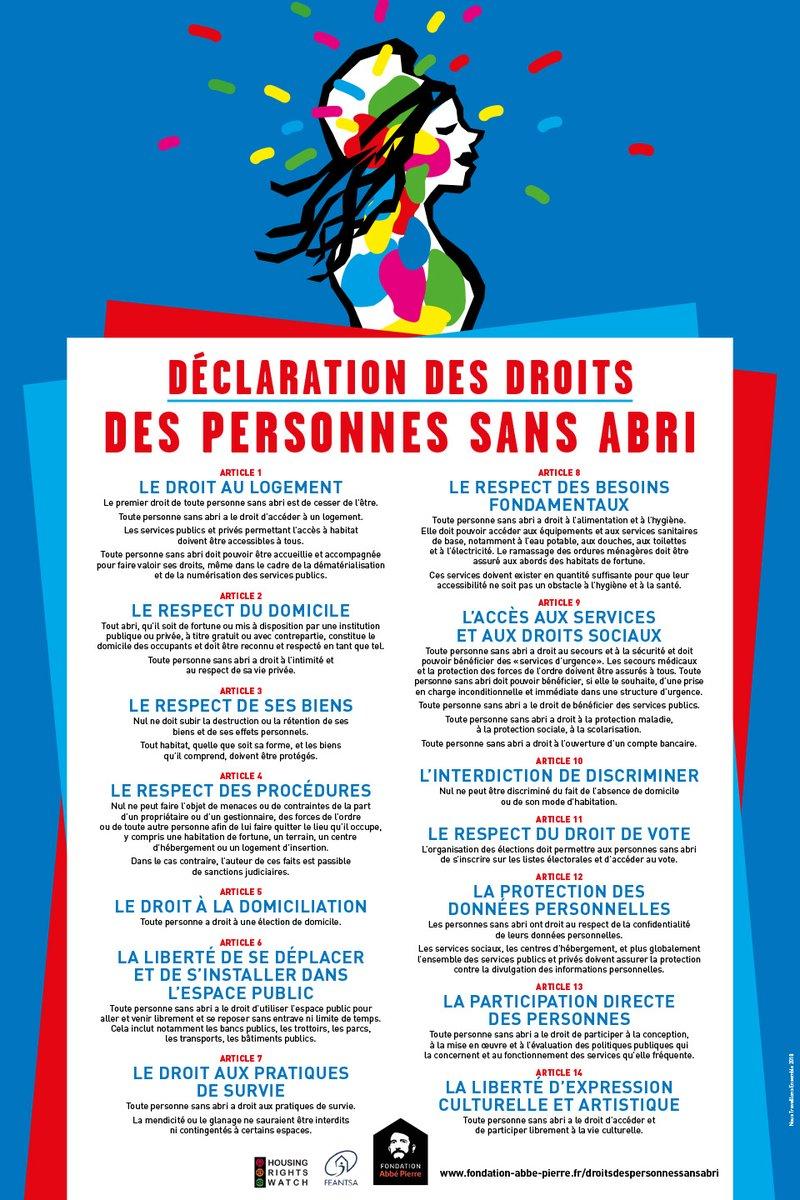 """TV9.info على تويتر: """"#Var Droit des personnes sans abri https://t"""