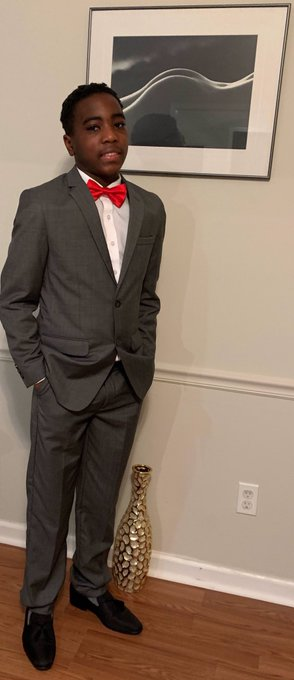 Join me in wishing HAPPY BIRTHDAY to my son/seed, Jonathan Banks. 13 years young!