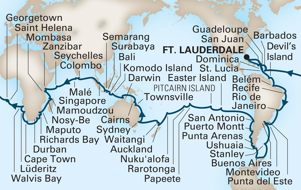 #Welcome to all those visiting  the #Falklands on their @HALCruises 2020 Grand World Voyage due to land today in Stanley. They are on an epic 128 day #RoundTheWorld #cruise exploring South America, Antarctica, Australia, the Indian Ocean and Africa. #WorldCruise pic.twitter.com/lRlWzXXQ0X