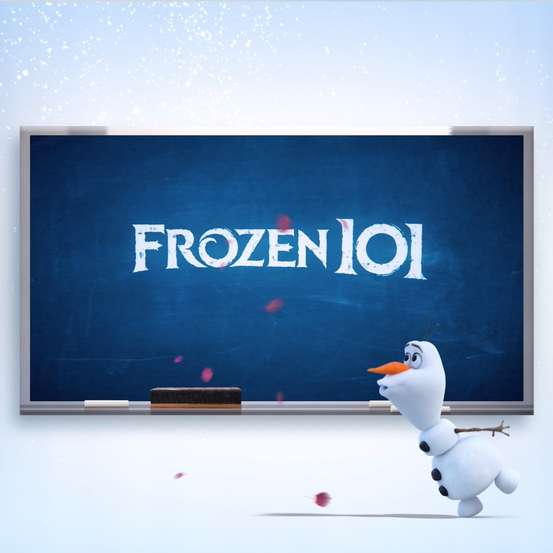 Check out this Frozen 101 lesson with Olaf! Bring home #Frozen2 #ShowYourself #Frozen2 #lost_in_the_wood #Singing #Dancing #disnerd #disneylife #olaf #wheniamolder #Olaf #Elsa #frozen