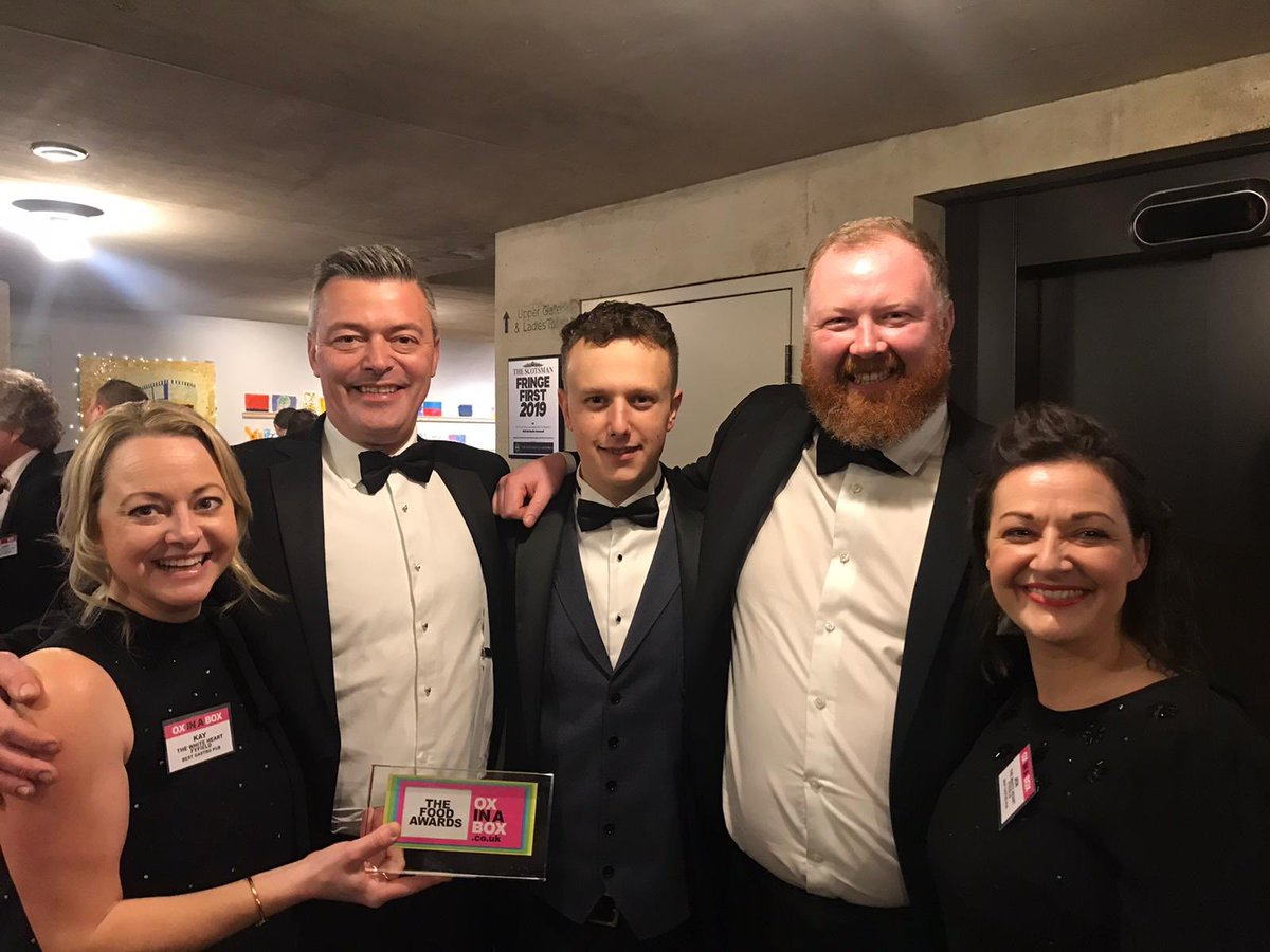 Best Gastropub at the Ox In A Box Food Awards was @the_whitehart