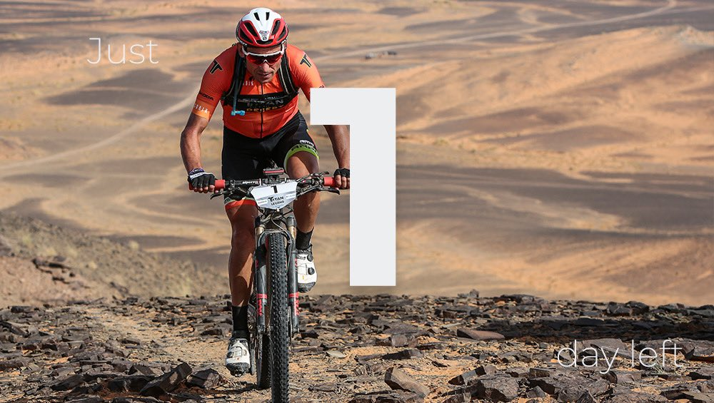 1 day left before the Titan Series Saudi Arabia Josep Betalú will be racing with bib number #1, winner of the last 4 editions of the Garmin Titan Desert.  #TitanSeriesKSA #HailSeasonpic.twitter.com/JtbY8z81yu