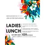 Image for the Tweet beginning: Ladies Lunch Book Now to