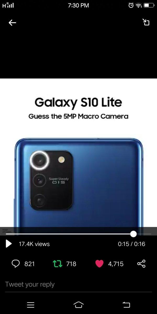 Perfect screenshot of 5 MP macro camera  #GalaxyS10Lite #ProGradeCamera  @SamsungIndia   @starvingout @booknworm @princessnehh  @zennrocks @rinadesai12pic.twitter.com/M7QGZVTXNc