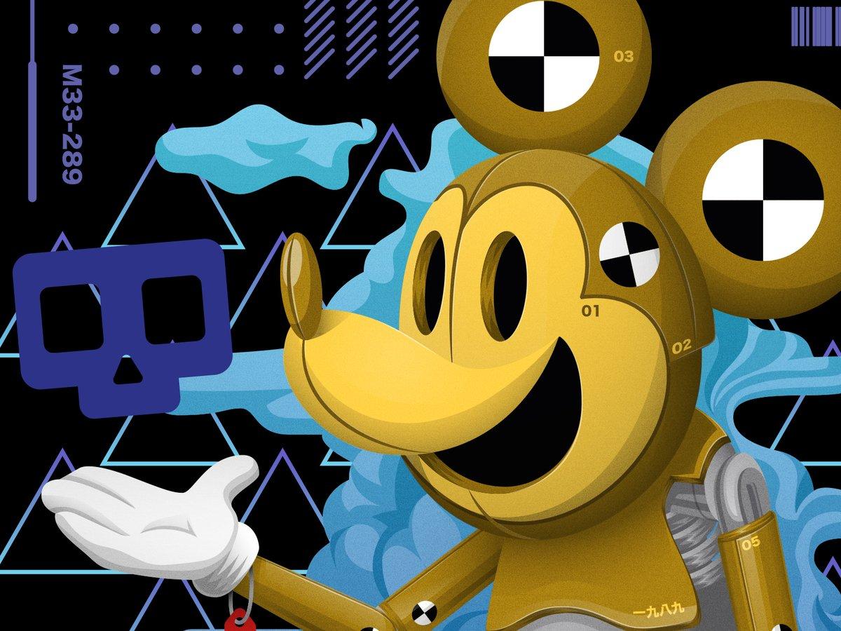 Let's begin #illustration #digitalart #Disney #MickeyMouse