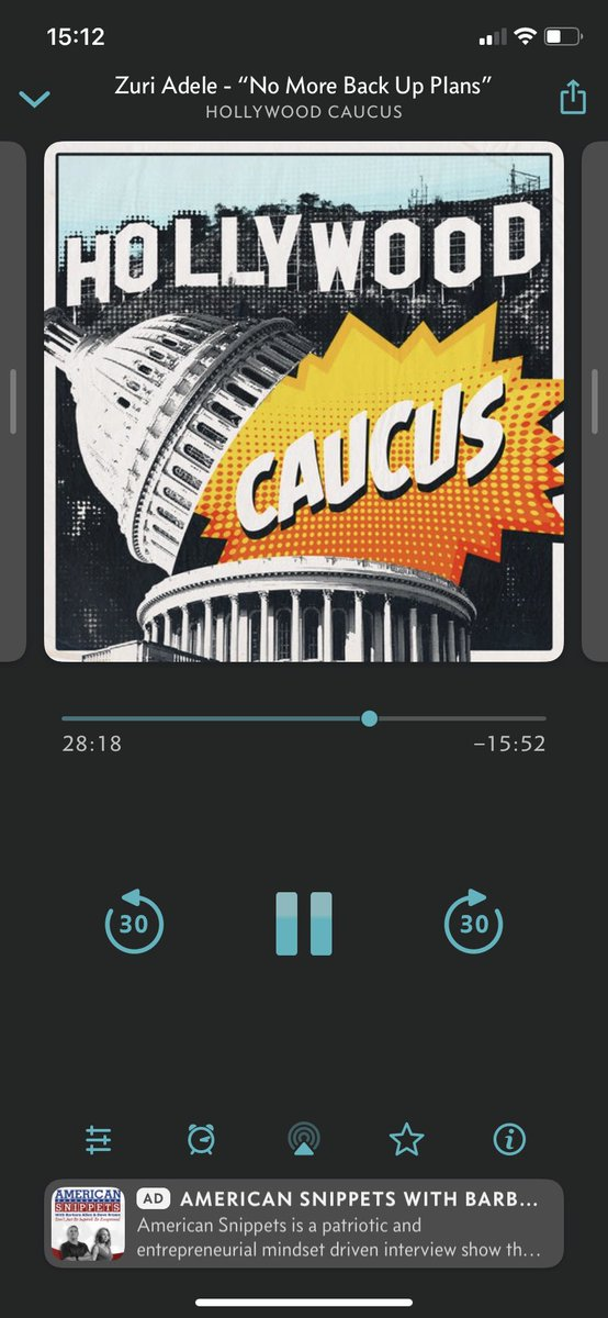 I'm listening to @JonathanDelArco and @TaraKarsian right now. Thank you for another very interesting episode of #HollywoodCaucus. pic.twitter.com/DqdBBvo6Sj