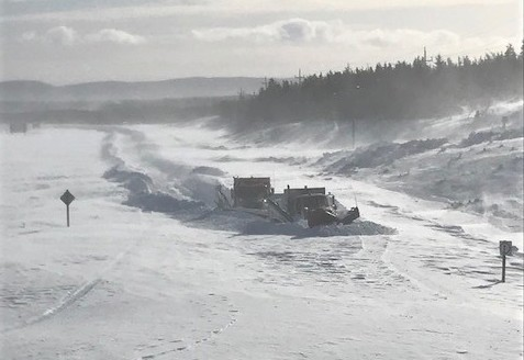 Some highways in Atlantic Canada were buried in 12-15 FEET of snow following an intense, record-shattering blizzard:
