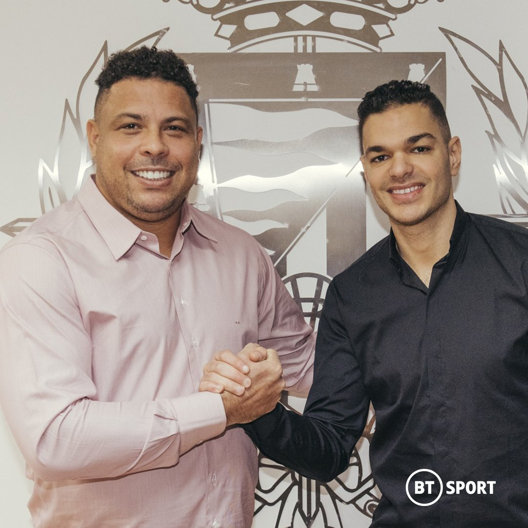 Looks like Hatem Ben Arfa has found his next team!  Joining up with Ronaldo's Real Valladolid  <br>http://pic.twitter.com/UAngbycz91